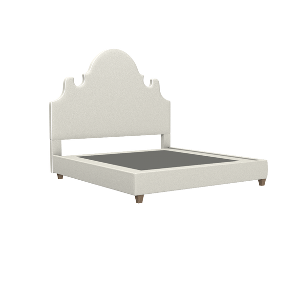 Charleston Platform Bed - King - complete-easton-double-chest