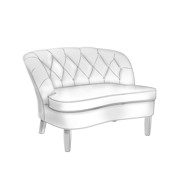 Chubby Chair   Seating For 2+