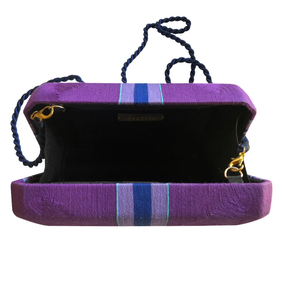 Cheska Medium Clutch - BTCL0506 Purple