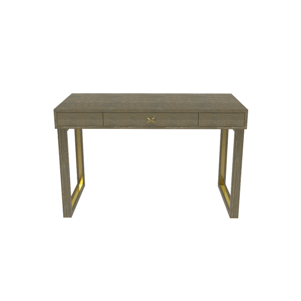 Chelsea Desk in Driftwood - Wood Finish Collection