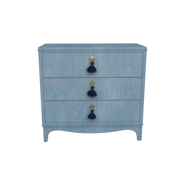 Easton Chest Denim Blue Finish - Denim Finish Collection