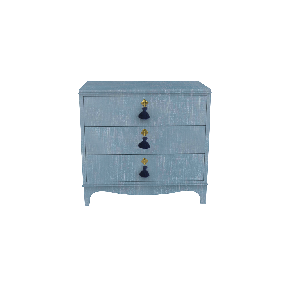 Easton Nightstand Denim Blue Finish