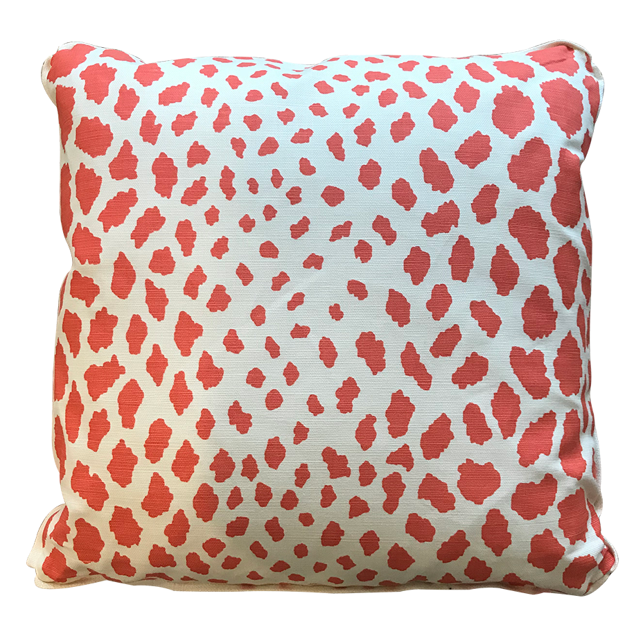 Quadrille Cheetah Pillow