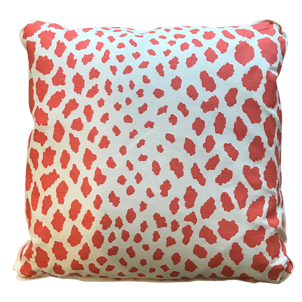 Quadrille Cheetah Pillow - Throw Pillows