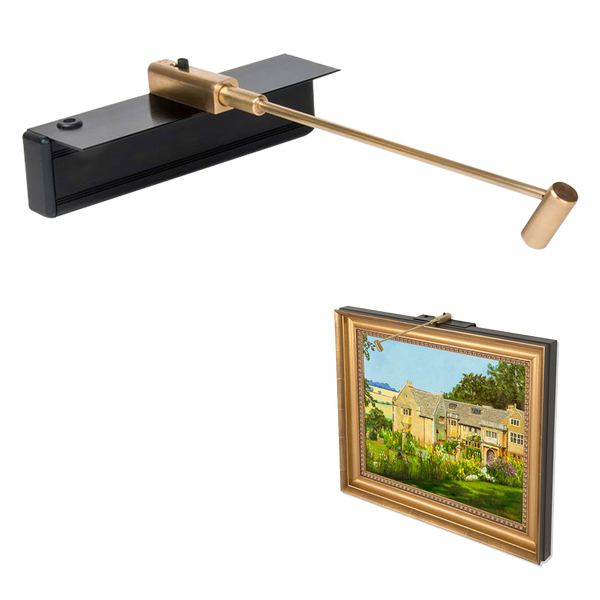 Mini Cordless Rechargeable Art Light-Brass - Art