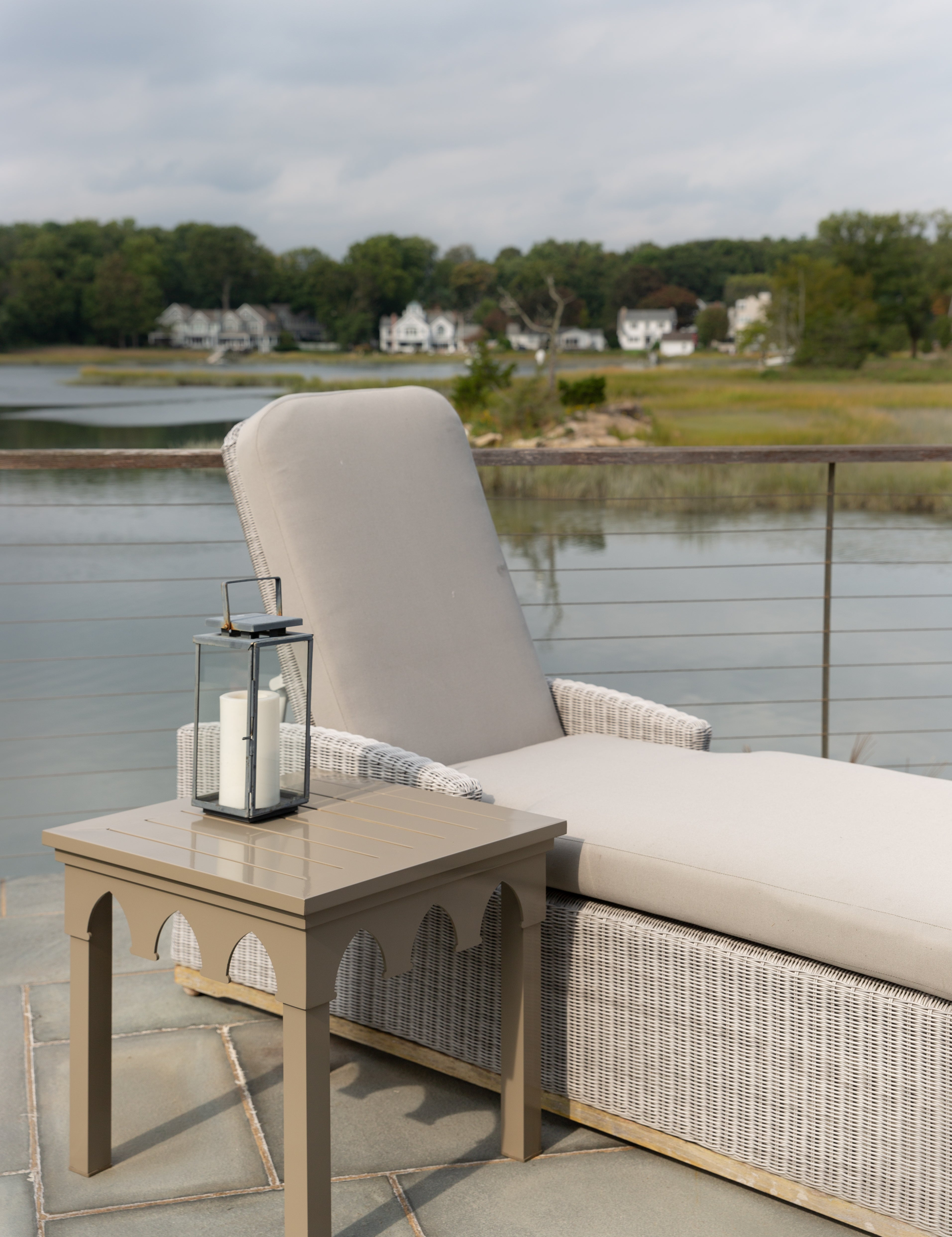 Ocean Drive Console - Timeless Taupe