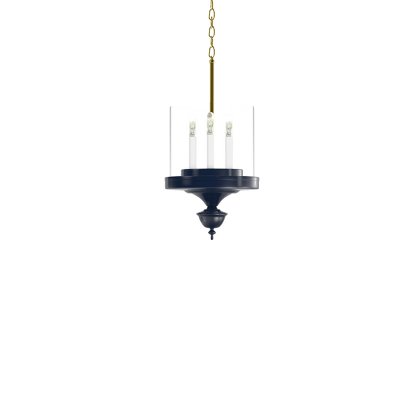 Little Greenwich Hanging Sconce with Brass - Ceiling Lighting