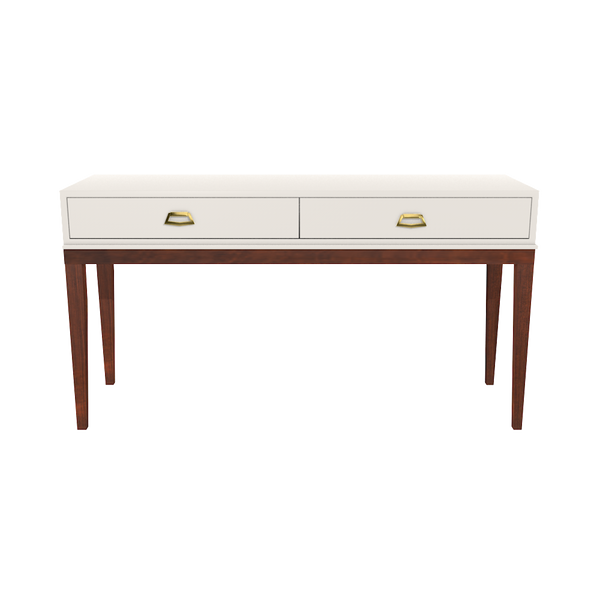Manchester Console White Dove - Wood Finish Collection