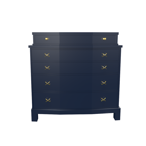 Manhattan Chest with Dividend - complete-Westport-Mirror