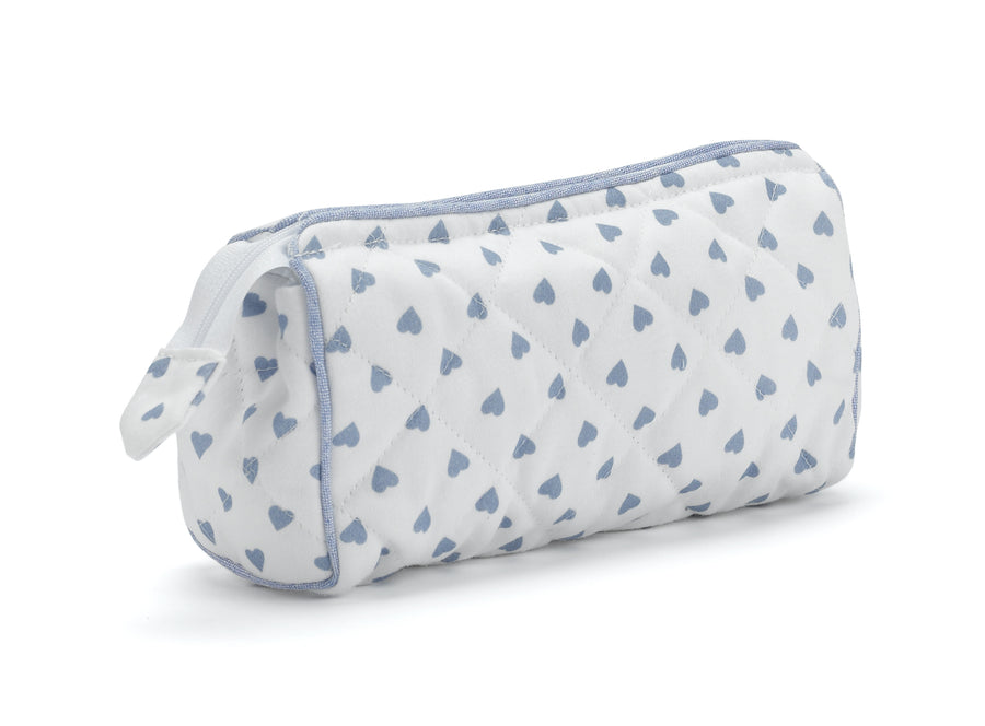 Nina Campbell Cosmetic Bag  - Blue Heart