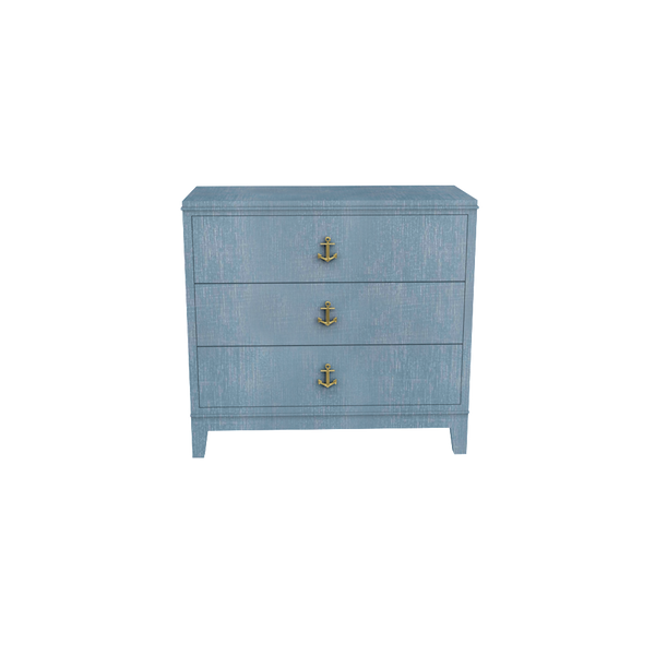 Neverland Nightstand Denim Blue Finish - Tables