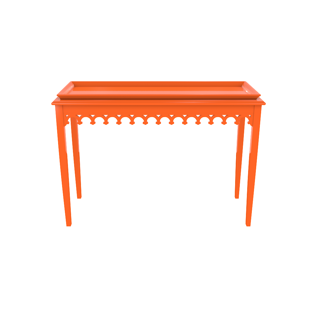 Newport Console:  Knockout Orange