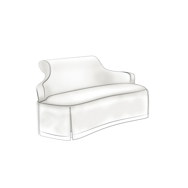 Nina Campbell End Of Bed Bench   Seating For 2+