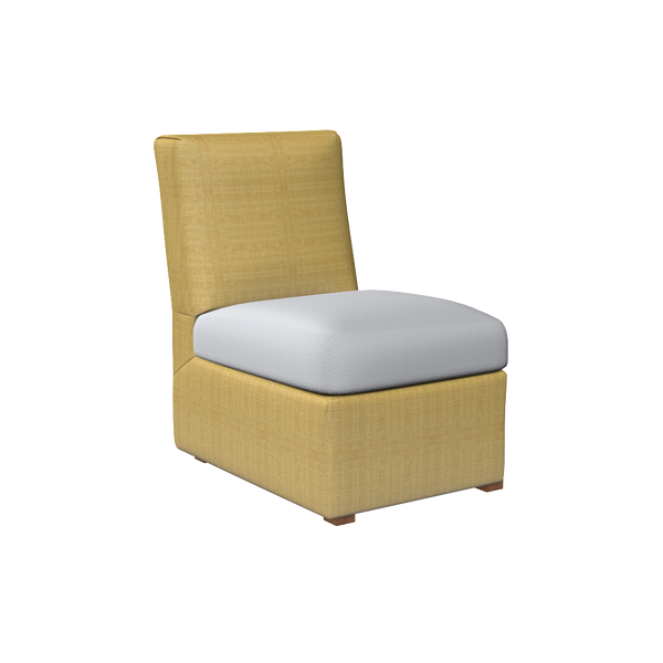 oomph Slipper Chair - complete-nina-campbell-billy-side-table
