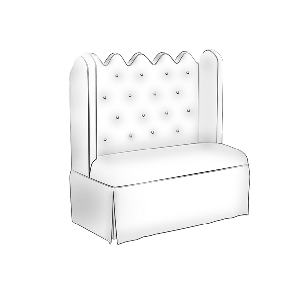 Hobe Sound Settee - All Seating