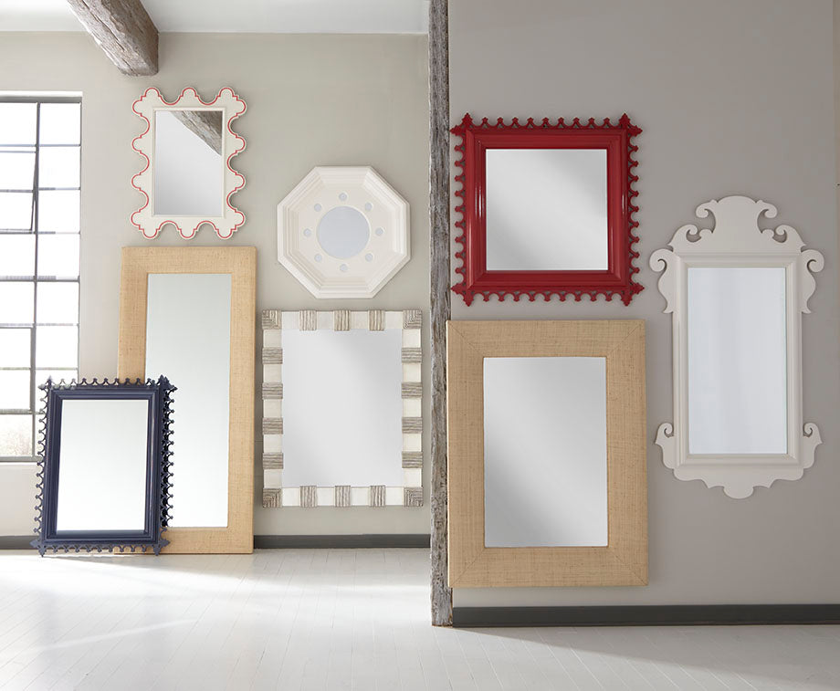 Harbour Island Floor Mirror