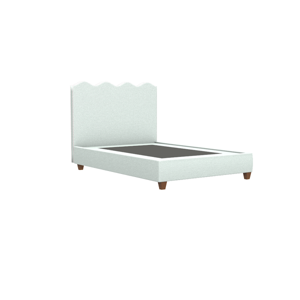 Wave Platform Bed - Queen - complete-capri-mirror-large