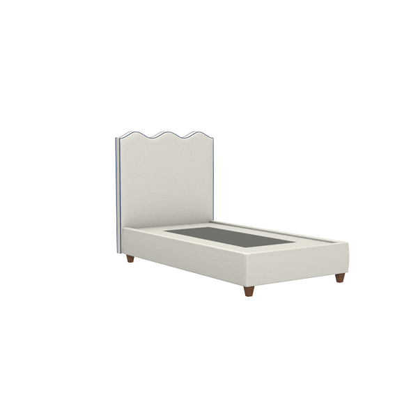 Wave Platform Bed - Twin - Hobe Sound Collection