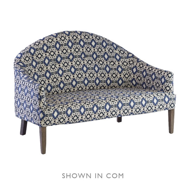Savannah Love Seat - complete-upholstered-slipper-chair