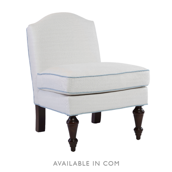Nina Campbell Slipper Chair - Upholstered Chairs