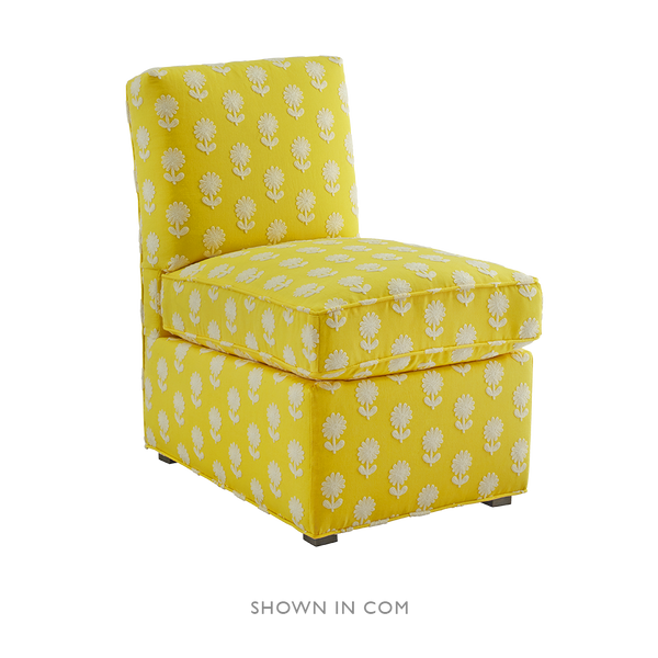 Upholstered Slipper Chair - Upholstered Chairs