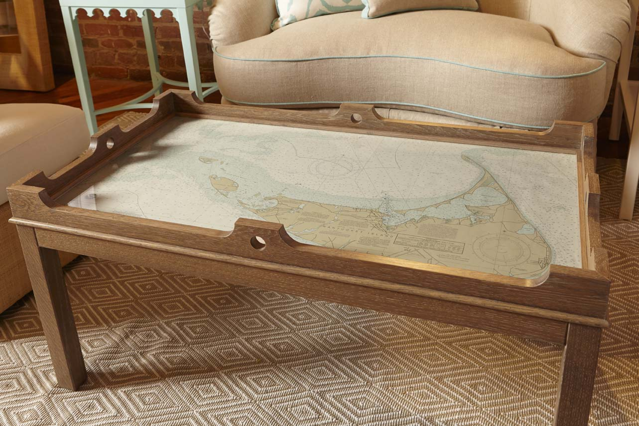 Fenwick Chart Table Driftwood