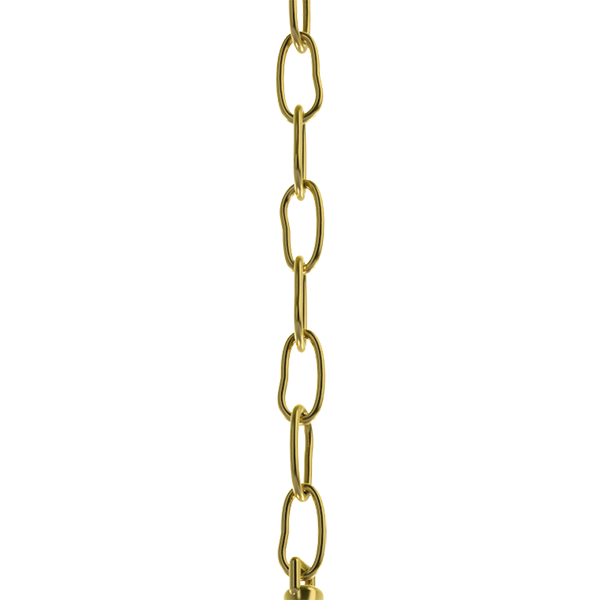 Large Link Brass Chain - Nickel & Brass Chain
