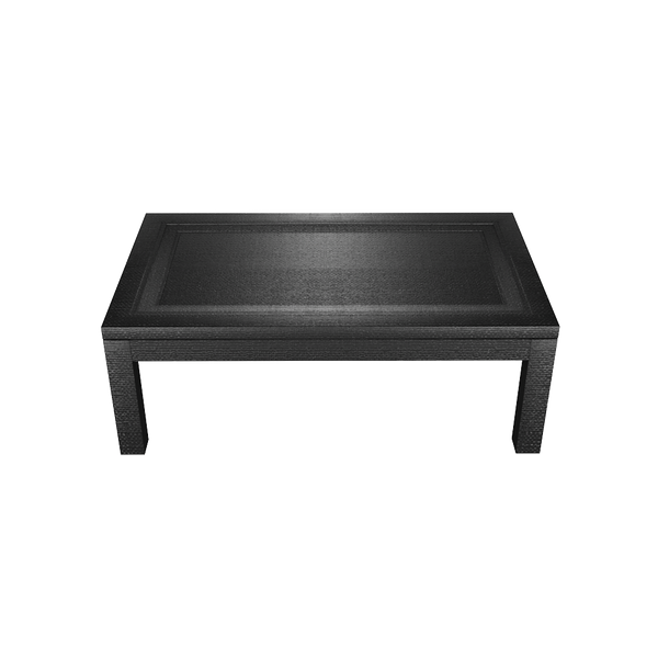 Malibu Wrapped Rectangle Coffee Table - Malibu Wrapped Collection