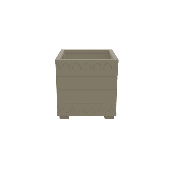Ocean Drive Planter Small - Timeless Taupe - oomph Outdoor