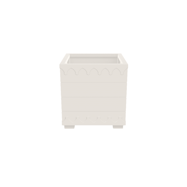 Ocean Drive Planter Small - White - oomph Outdoor