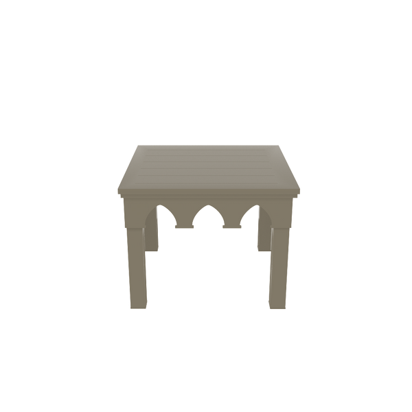 Ocean Drive Side Table - Timeless Taupe - oomph Outdoor