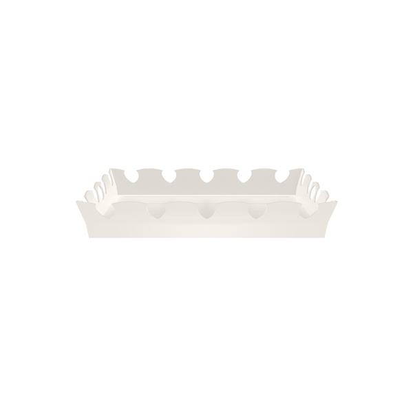 Ocean Drive Tray - White - Quick Ship