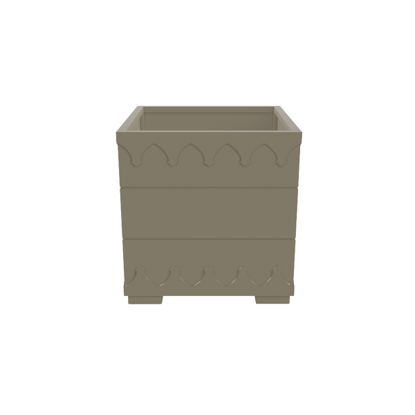 Ocean Drive Planter Large - Timeless Taupe - oomph Outdoor