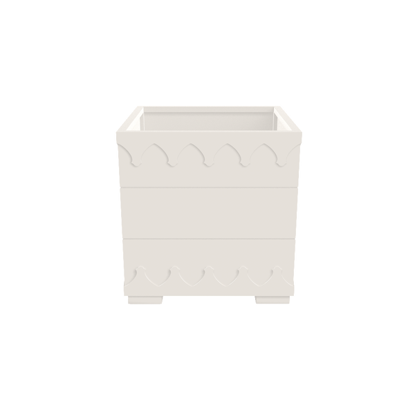 Ocean Drive Planter Large - White - oomph Outdoor