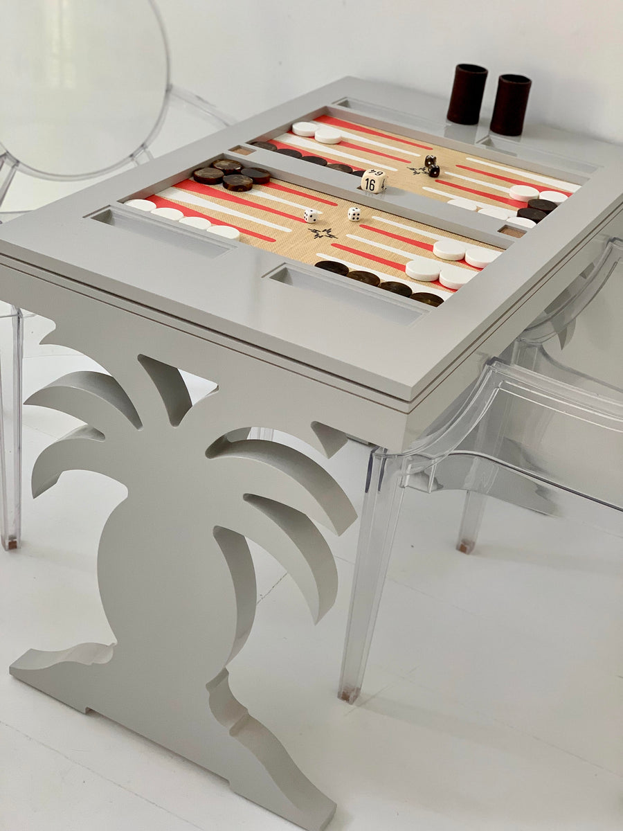Harbour Island Backgammon Table