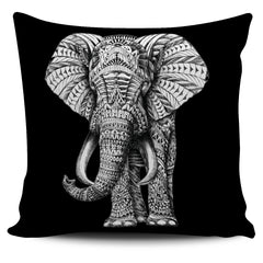Ornate Elephant Pillow Covers