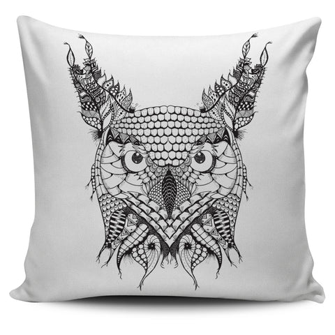 Ornate Owl Pillow Covers
