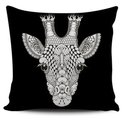 Ornate Giraffe Pillow Covers