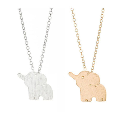 Cute Lucky Elephant Necklace