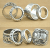 Image of 4 Piece Elephant Midi Ring Set