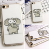 Image of Cute Cartoon Elephant Silicone iPhone Case