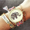 Image of Good Luck Elephant Braided Watch