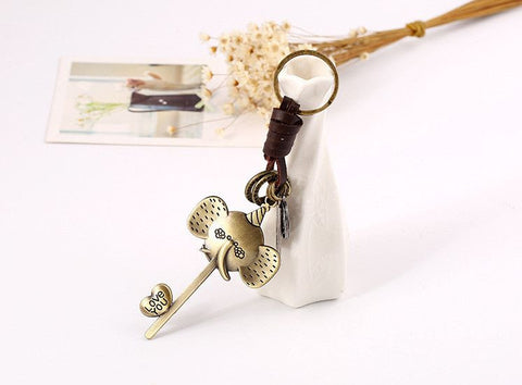 Adorable Elephant Keychain