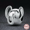 Image of 925 Sterling Silver Lucky Elephant Charm