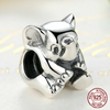 Image of 925 Sterling Silver Baby Elephant Charm