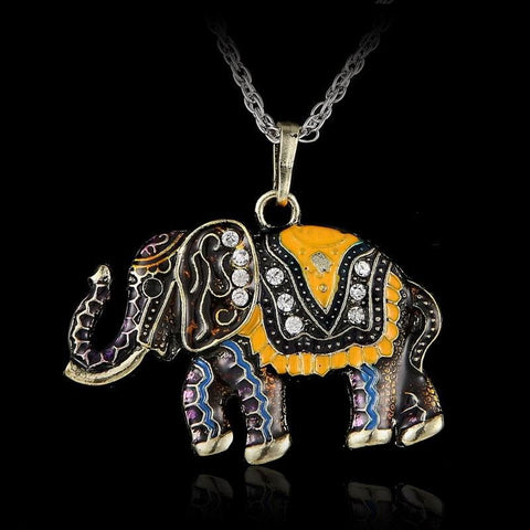 FREE Boho Elephant Pendant Necklace - Just Pay Shipping!