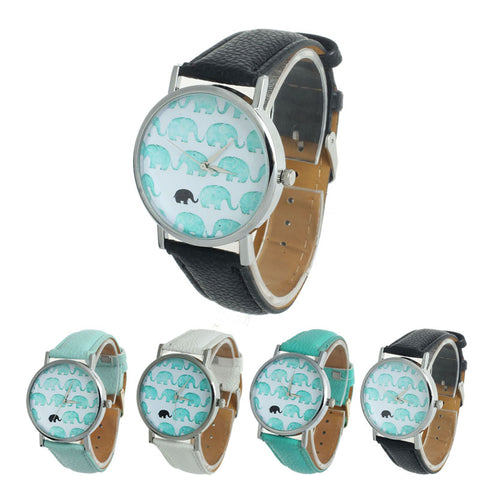Adorable Elephant Quartz Watch