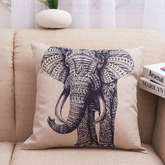 Vintage Elephant Pillow Covers