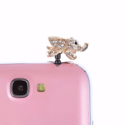 Elephant Cell Phone Dust Plug