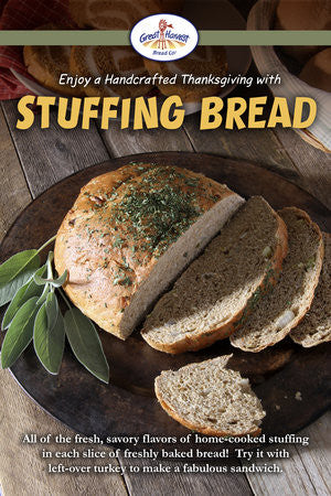 Thanksgiving Favorites...Make the Best Turkey Sandwich with Great Harvest Stuffing Bread